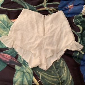 For love and lemons high waisted shorts